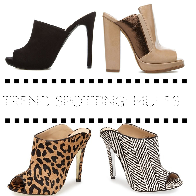 Trend spotting- mules