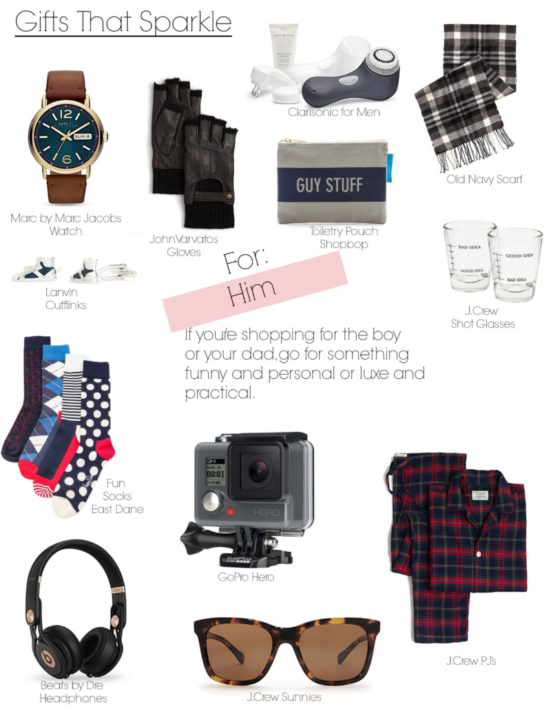 Gifts That Sparkle for him