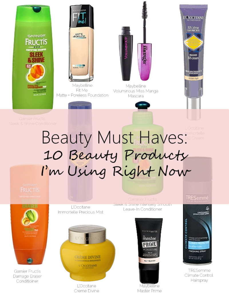 Beauty Must Haves Spring teaser