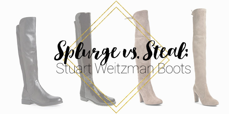 Stuart Weitzman Boots Look for Less