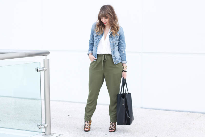 Old Navy Olive Joggers (4 of 11)
