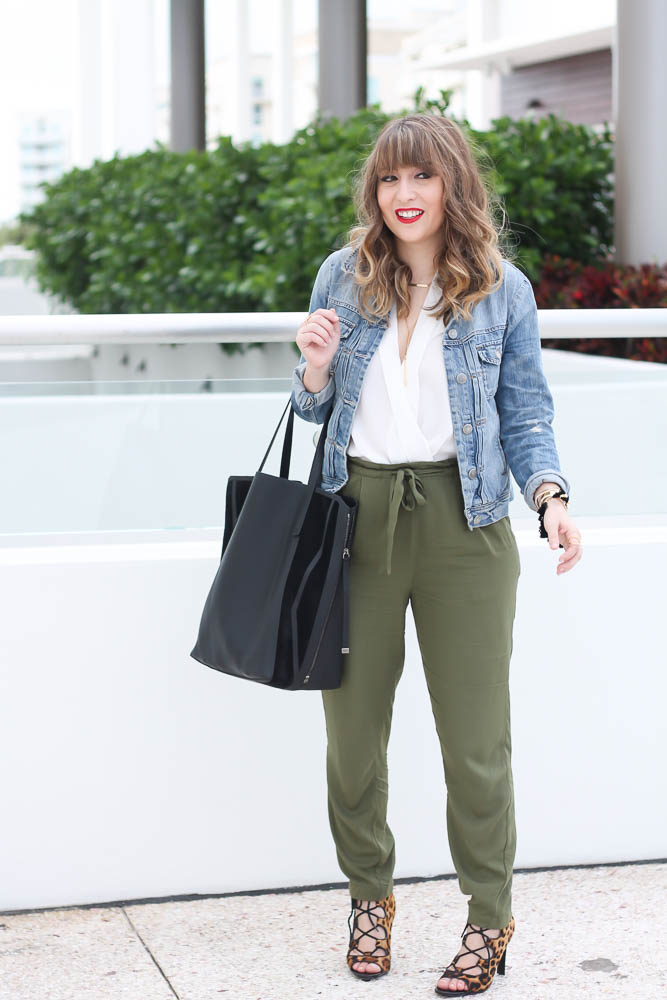 Old Navy Olive Joggers (8 of 11)