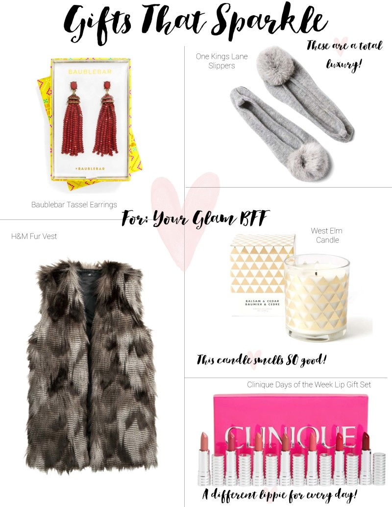 Gift Guide – Your Glam BFF