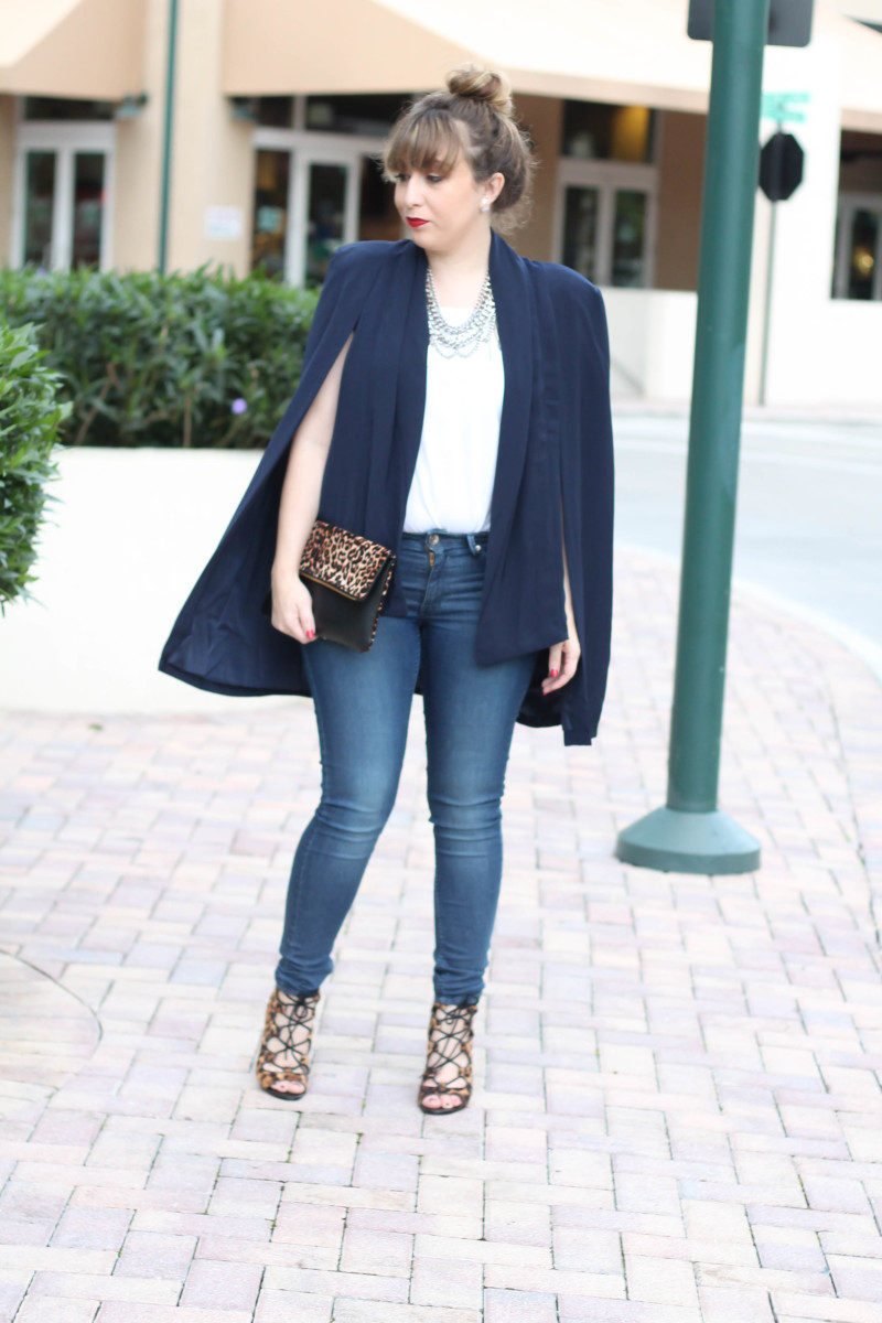 How to style a cape blazer-7