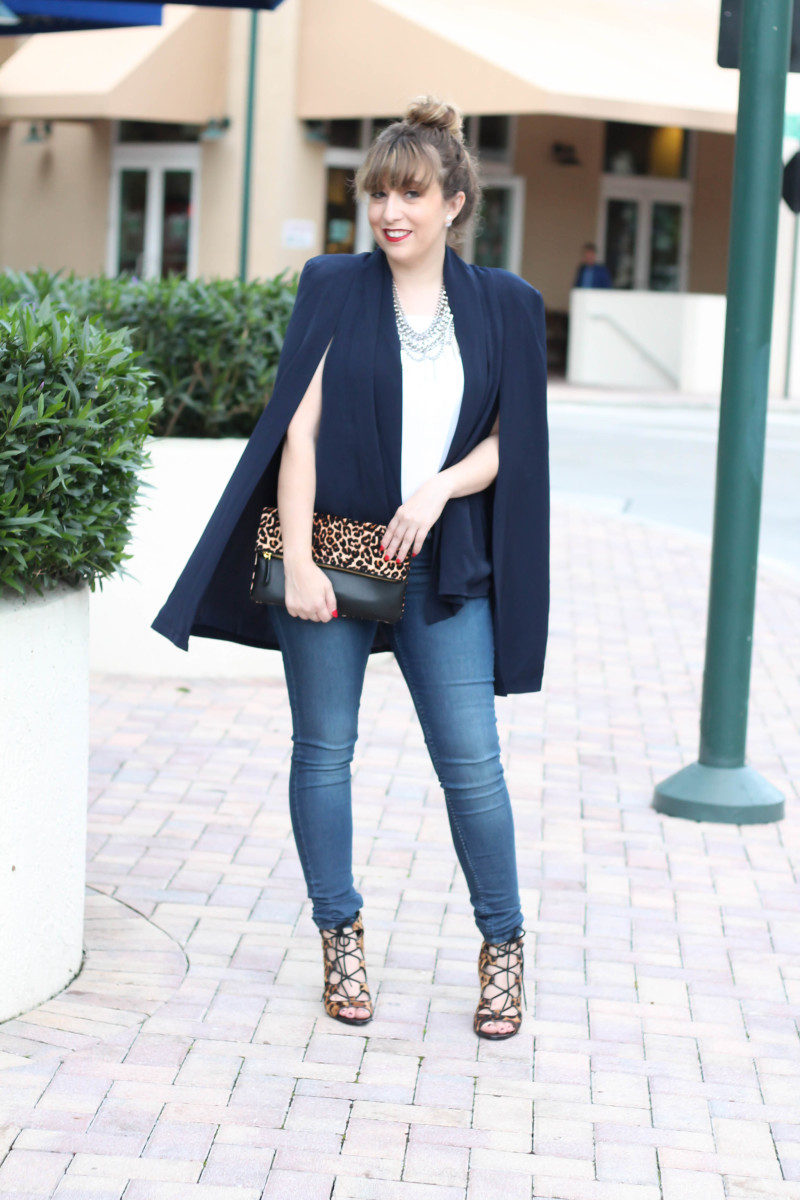 How to style a cape blazer-8