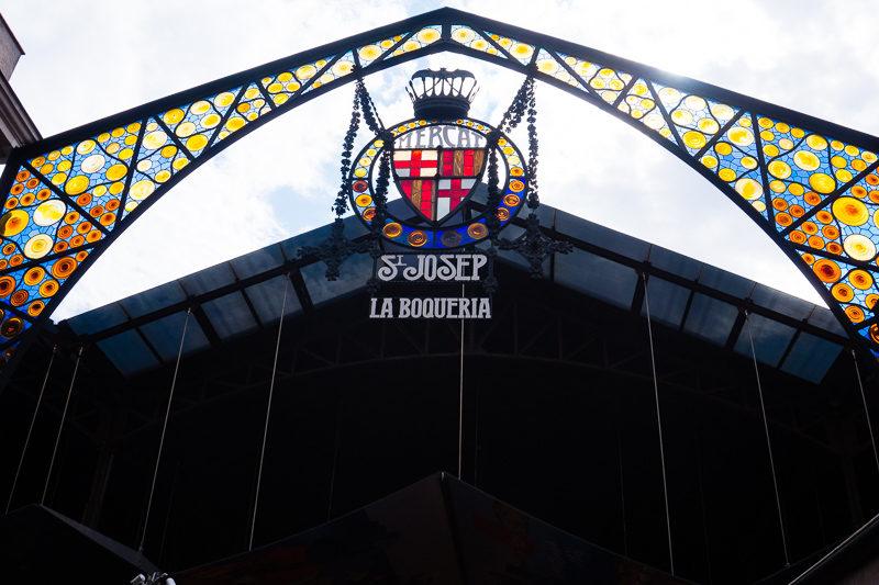 St. Josep La Boqueria mercado in Barcelona.