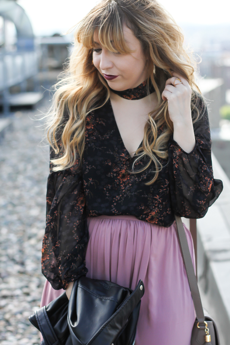 lush-floral-choker-top-forever-21-midi-skirt-who-what-wear-leather-biker-jacket-11-of-12