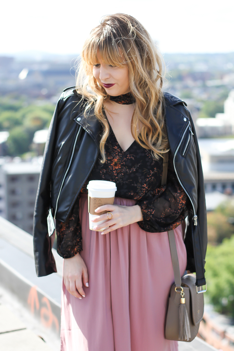 lush-floral-choker-top-forever-21-midi-skirt-who-what-wear-leather-biker-jacket-9-of-12