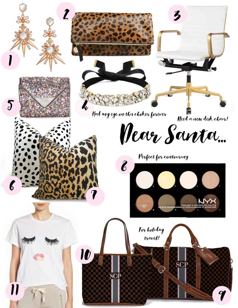 Christmas Gift Guide for her: My Wishlist
