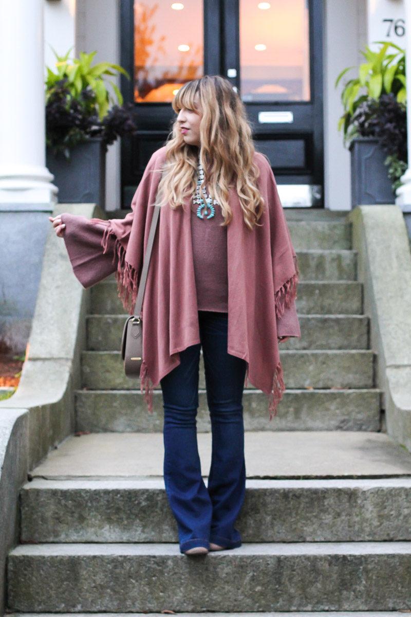 Miami fashion blogger styles a boho fall outfit idea