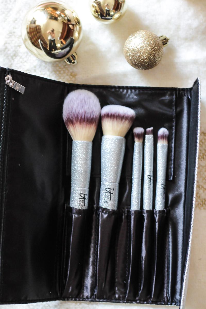 IT Cosmetics for ULTA All That Glitters brush set