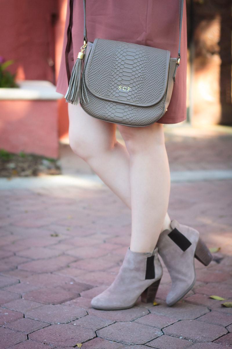 Miami fashion blogger Stephanie Pernas styles a GiGi New York Kelly saddlebag and Sole Society Lylee booties