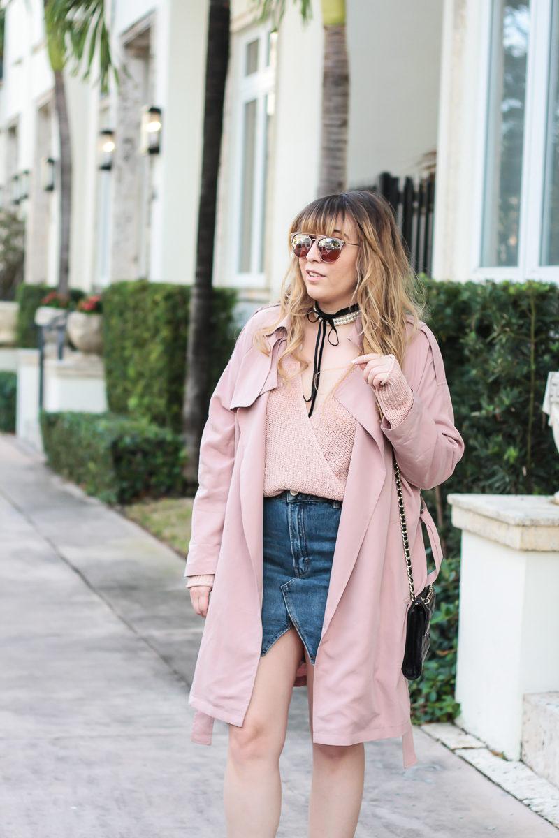 Miami fashion blogger Stephanie Pernas wearing Fantaseyes sunglasses