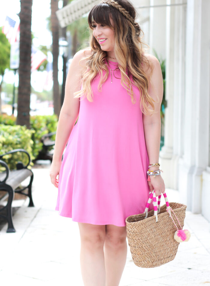 Old Navy jersey Swing Dress for spring