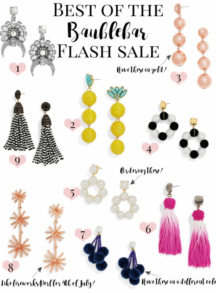 baublebar earring flash sale