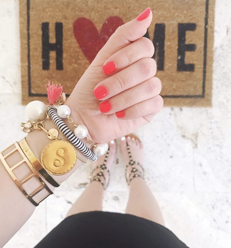 Striking Red Manicure