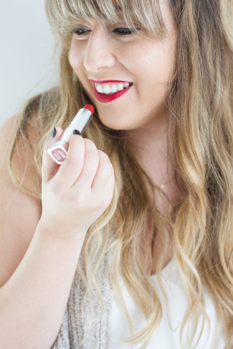 Favorite fall lipsticks and Crest 3D White Whitening Therapy
