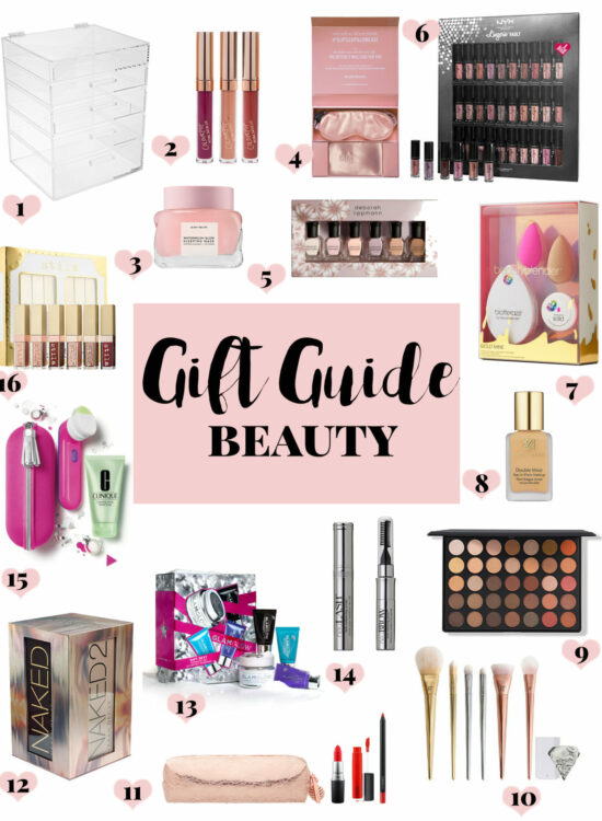 Gift Guide Beauty: beauty gift ideas