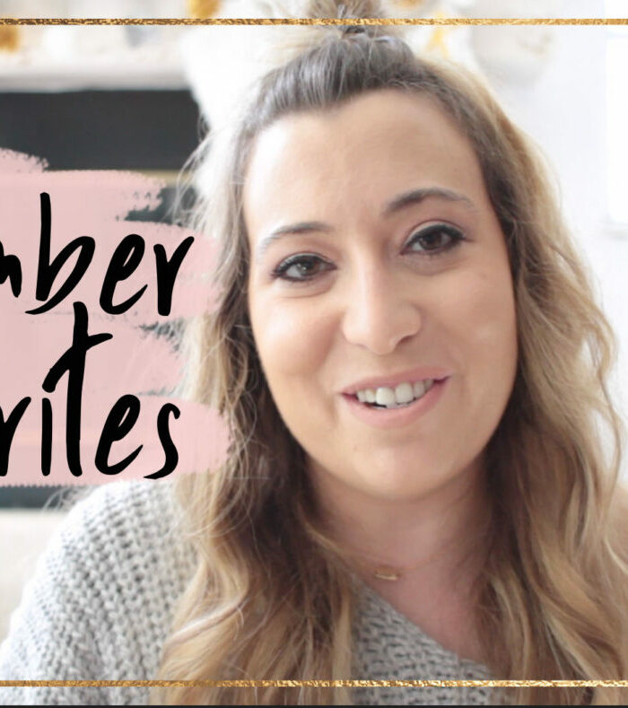 november favorites 2017: fashion and beauty favorites video