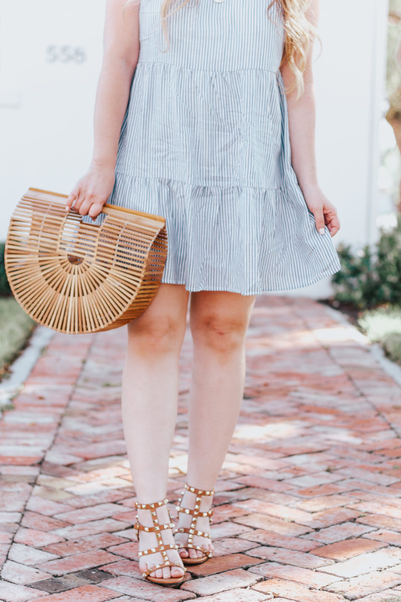 Old Navy blue stripe sundress for spring-14