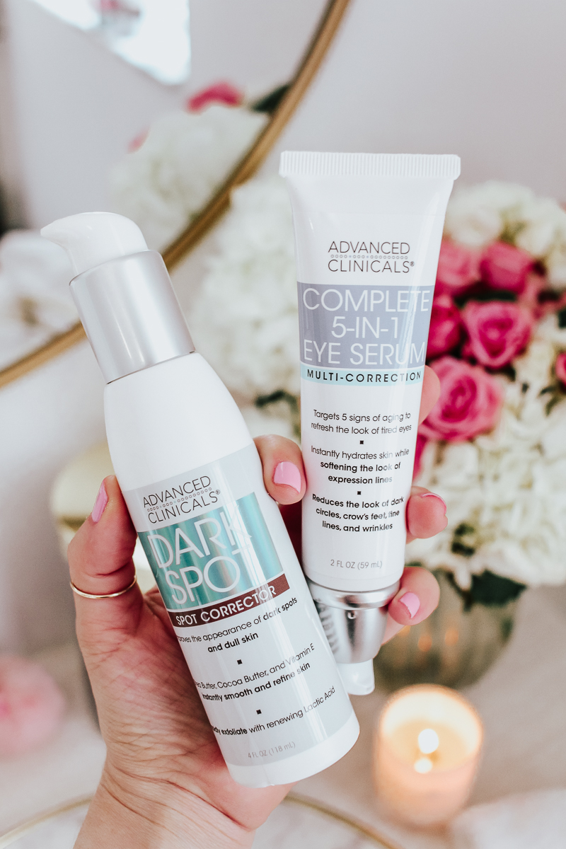 Affordable Skincare- Advanced Clinicals Dark Spot Corrector + Complete 5-in-1 Eye Serum Reviews-5