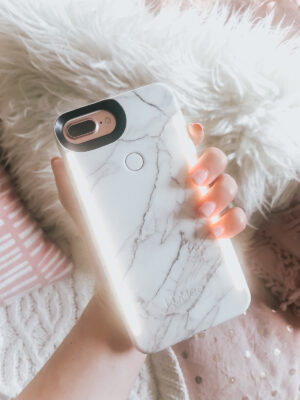 Lumee Duo Case - light up iPhone case for the best selfies