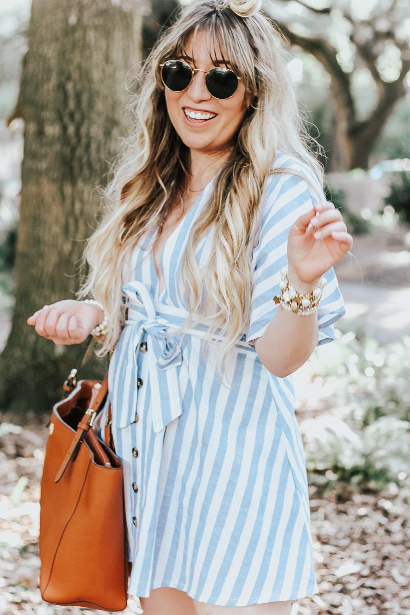 Shein-blue-and-white-stripe-dress-11