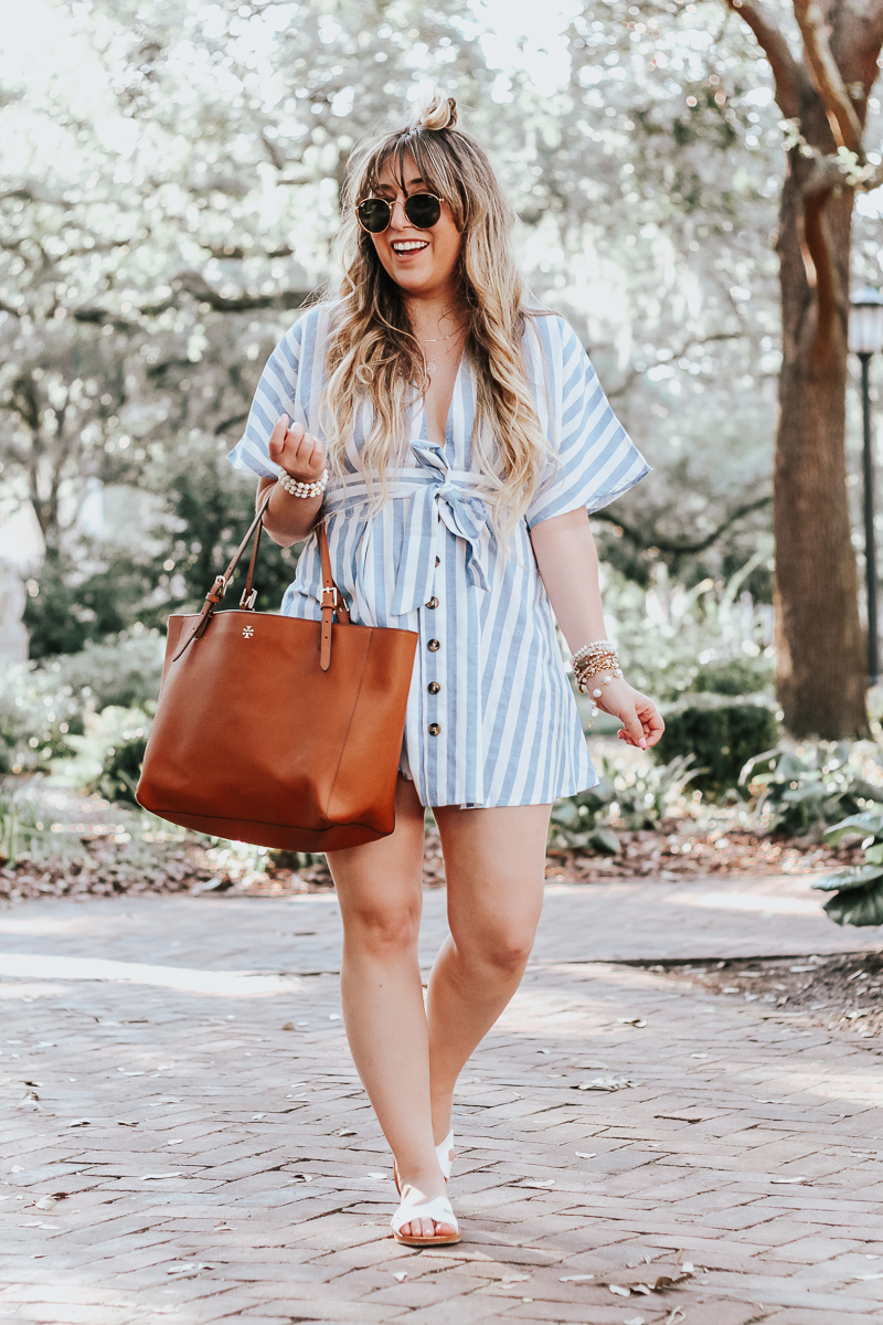 Shein-blue-and-white-stripe-dress-5
