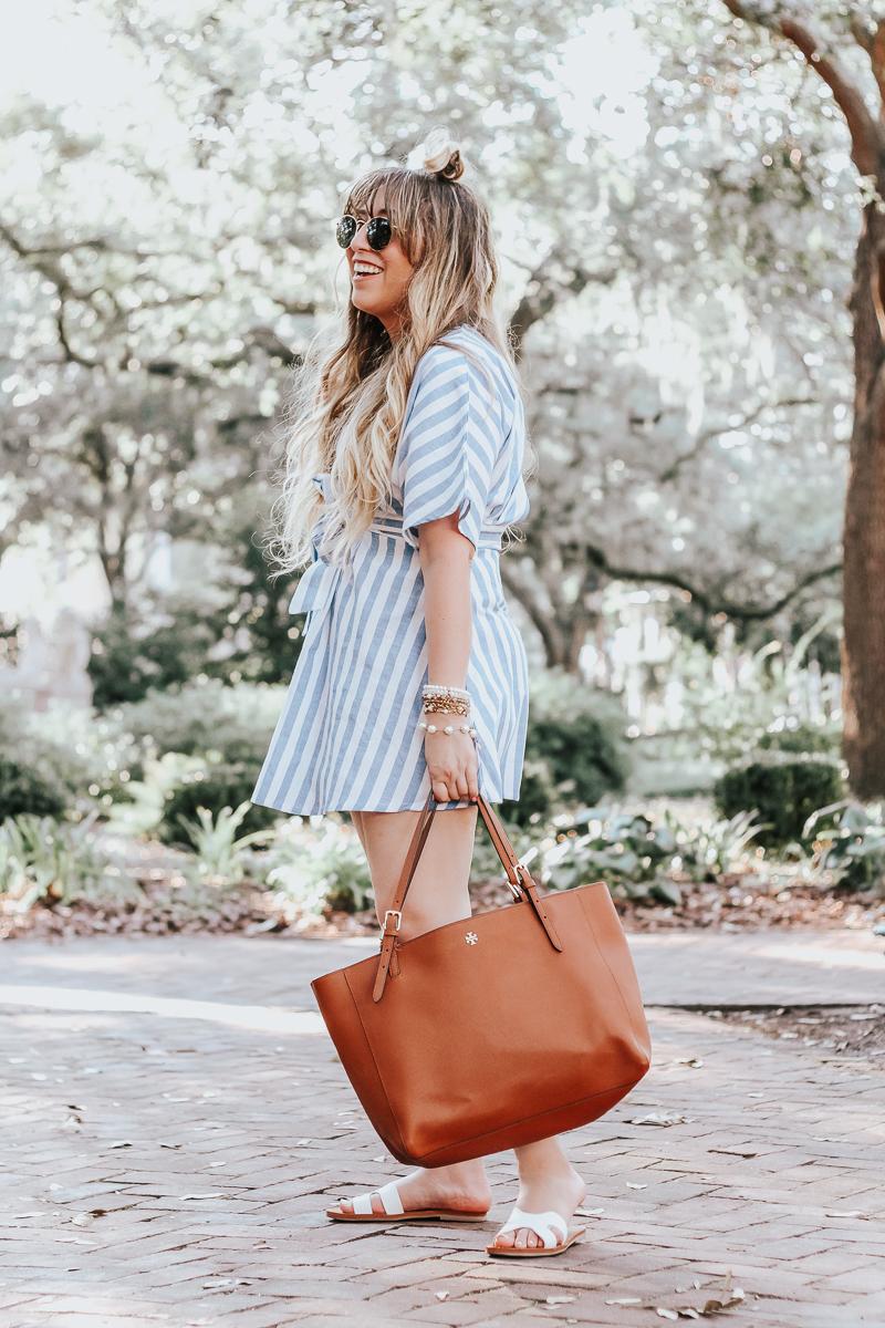 Shein-blue-and-white-stripe-dress-7
