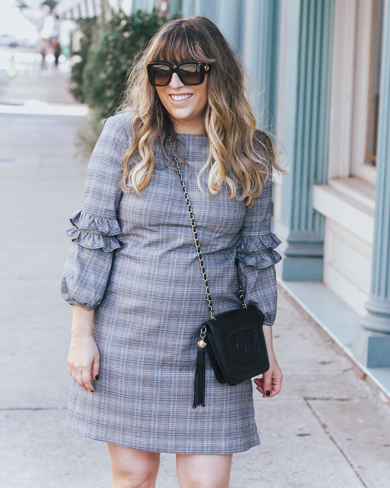 Gwynnie Bee plaid dress_