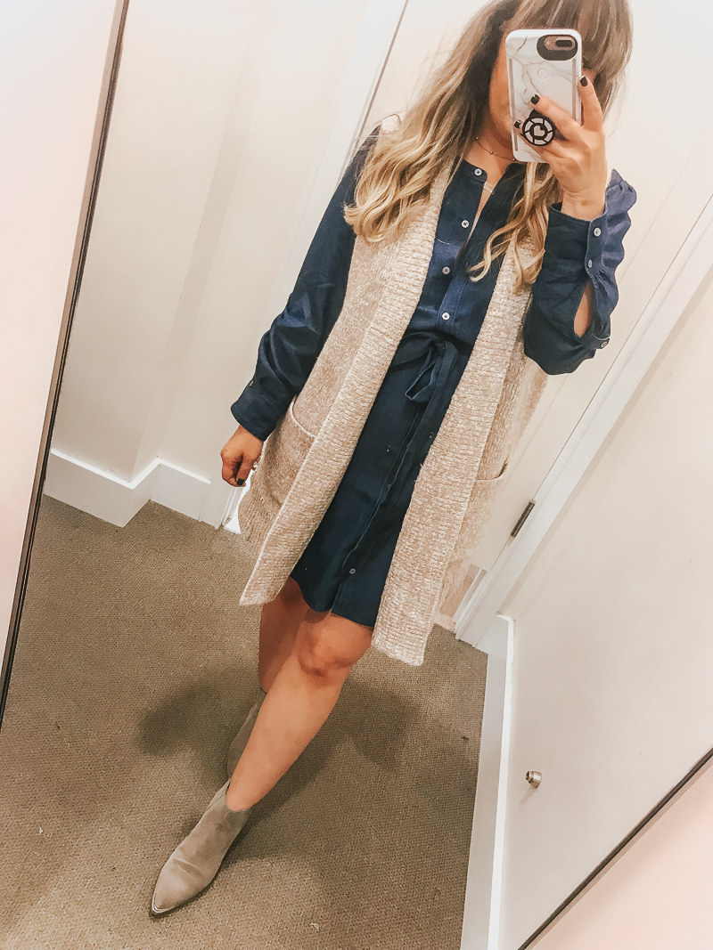 LOFT Friends + Family Sale Try On Session-2