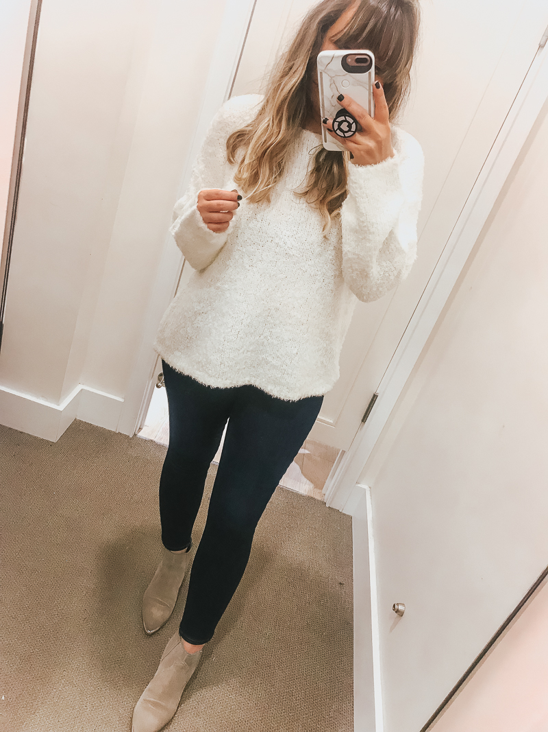 LOFT Friends + Family Sale Try On Session-6