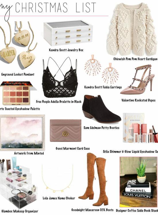 Holiday Gift Guide 2018 – Christmas List Ideas – My Christmas List 2018