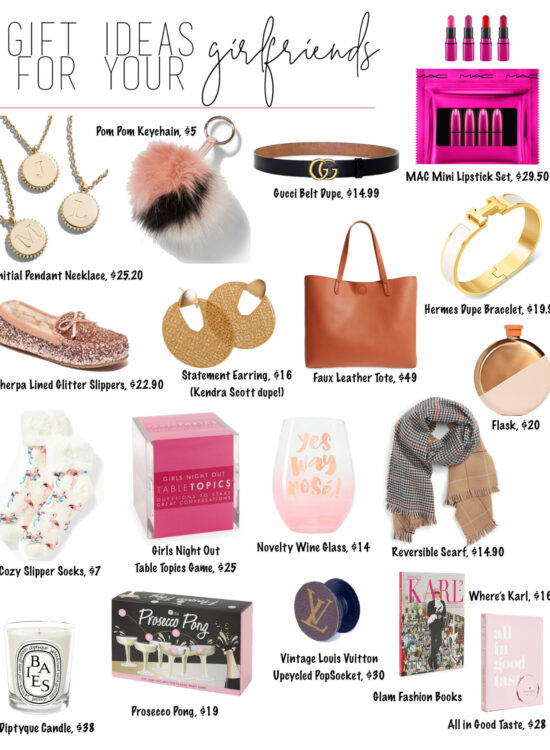 Holiday Gift Guide 2018 – Gifts Ideas for Women – gifts for your girlfriends