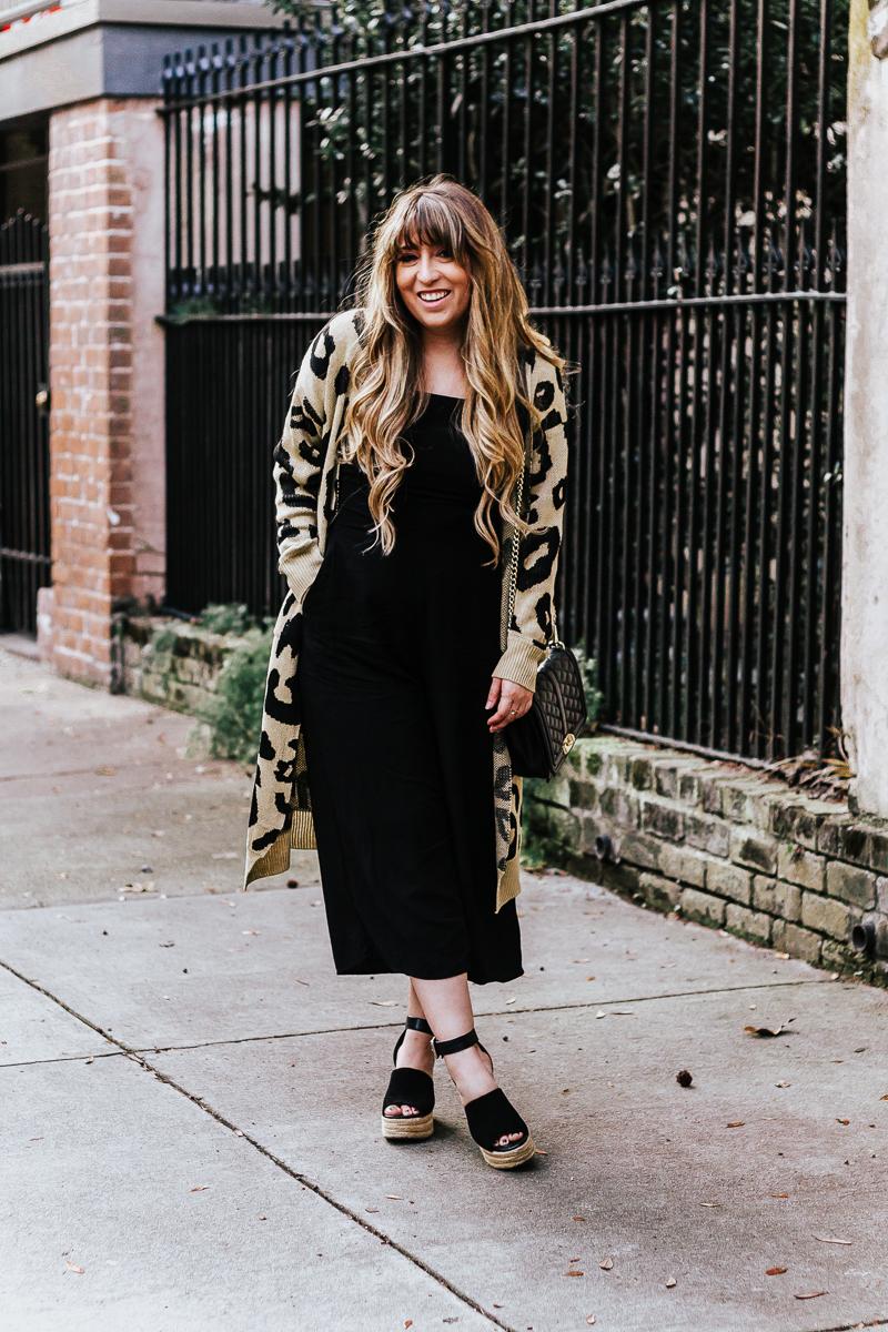 How to Style a Black Jumpsuit – black jumpsuit outfit ideas-9