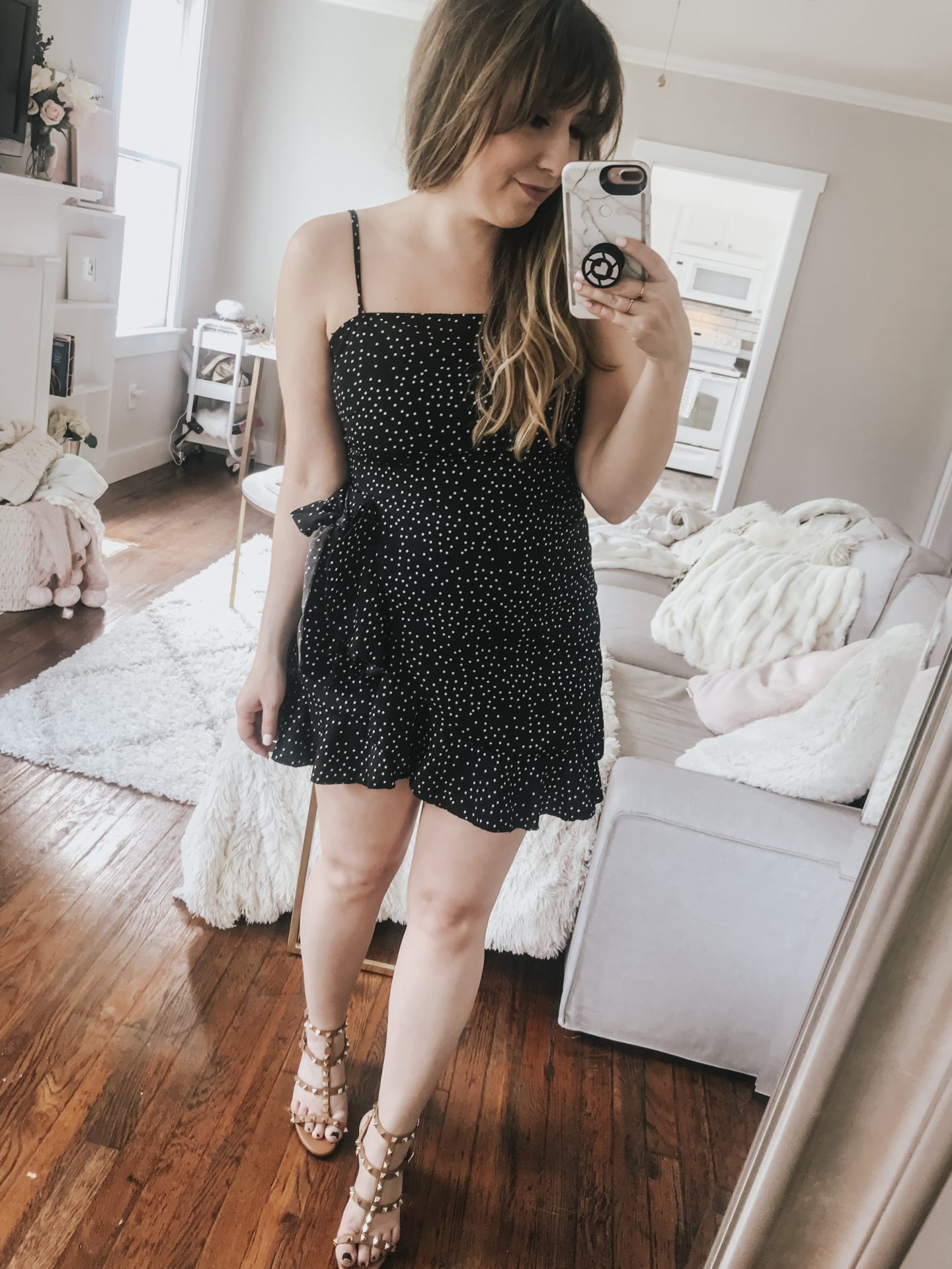 Amazon polka dot dress