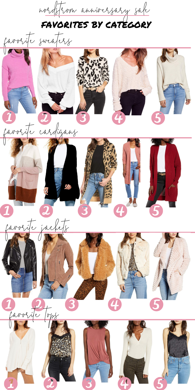 Nordstrom Anniversary Sale Favorites 2019