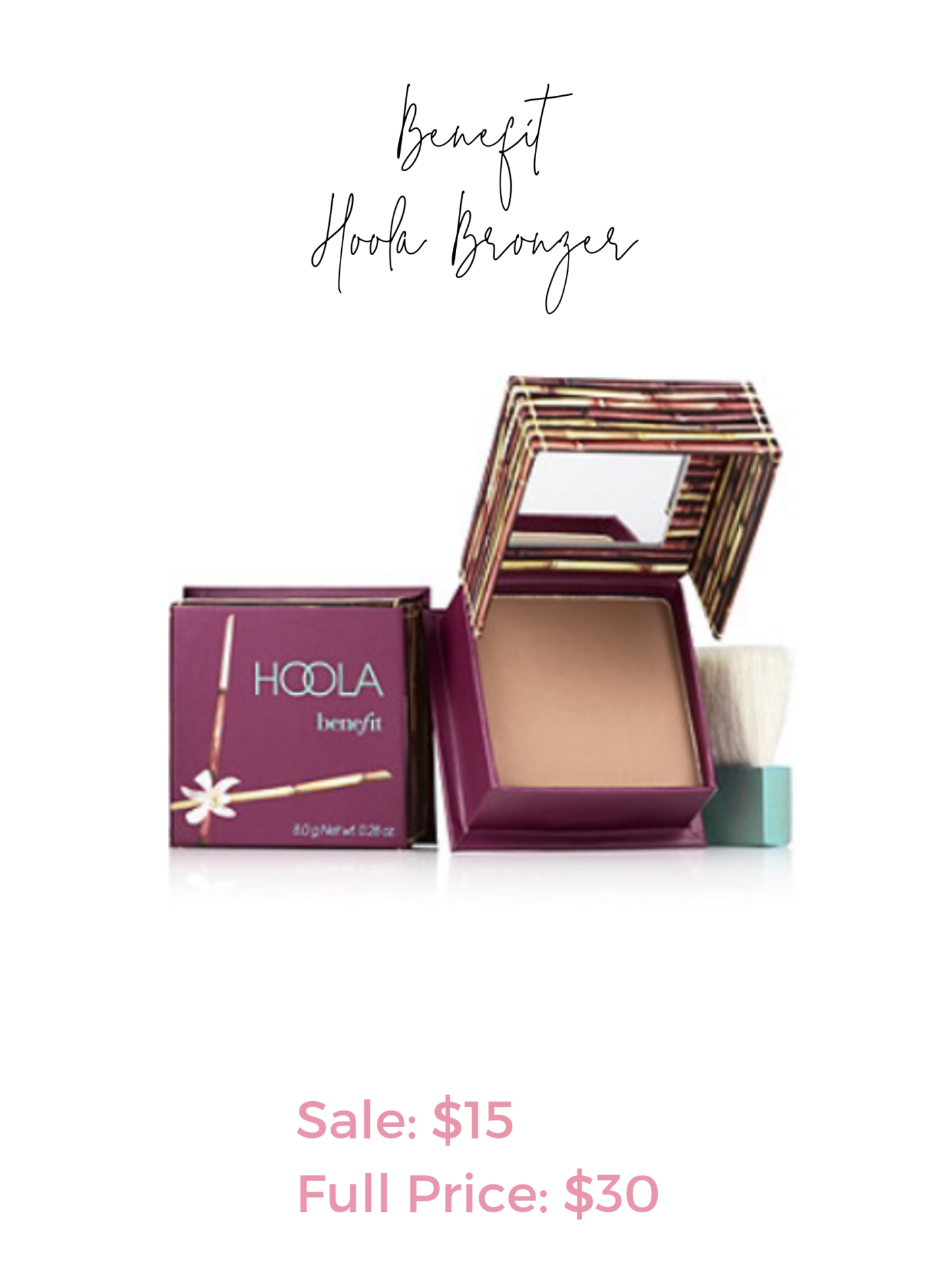 Ulta 21 days of beauty sale - Benefit Hoola Bronzer
