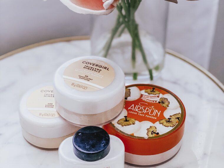 best drugstore setting powder