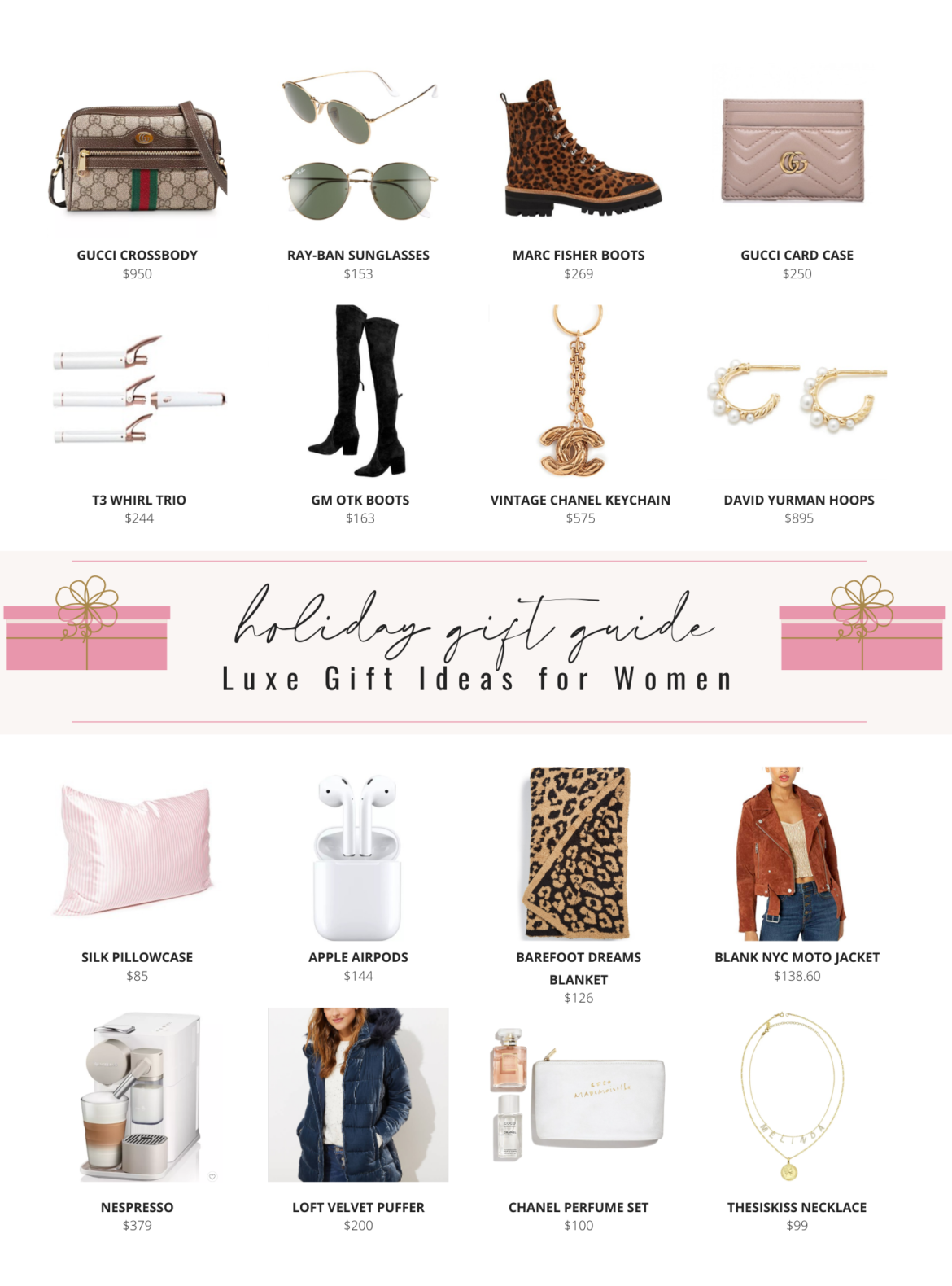 Holiday Gift Guide - Luxe Gift Ideas for Women