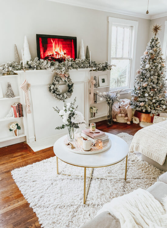 glam holiday home decor