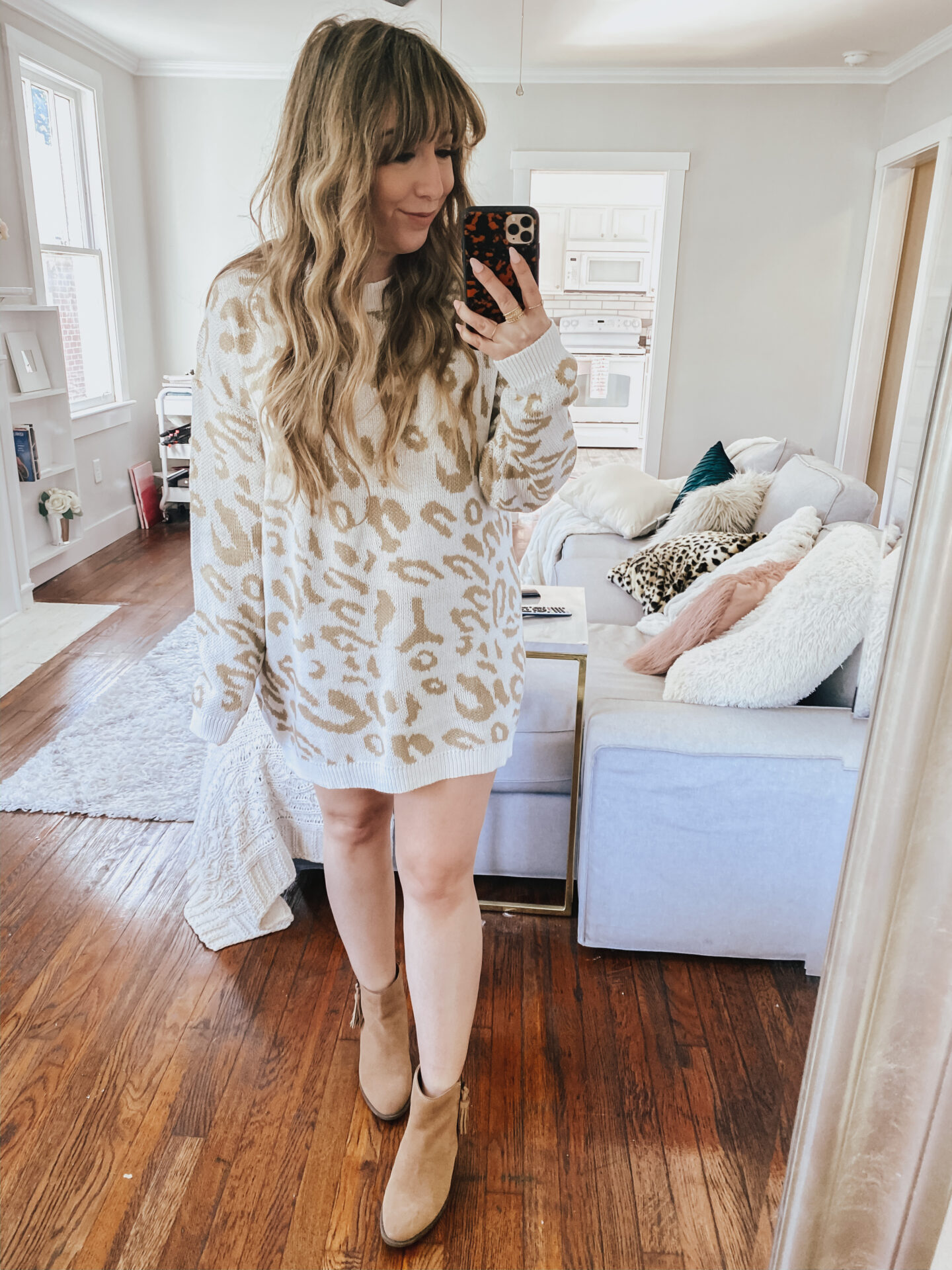 Amazon leopard sweaterdress