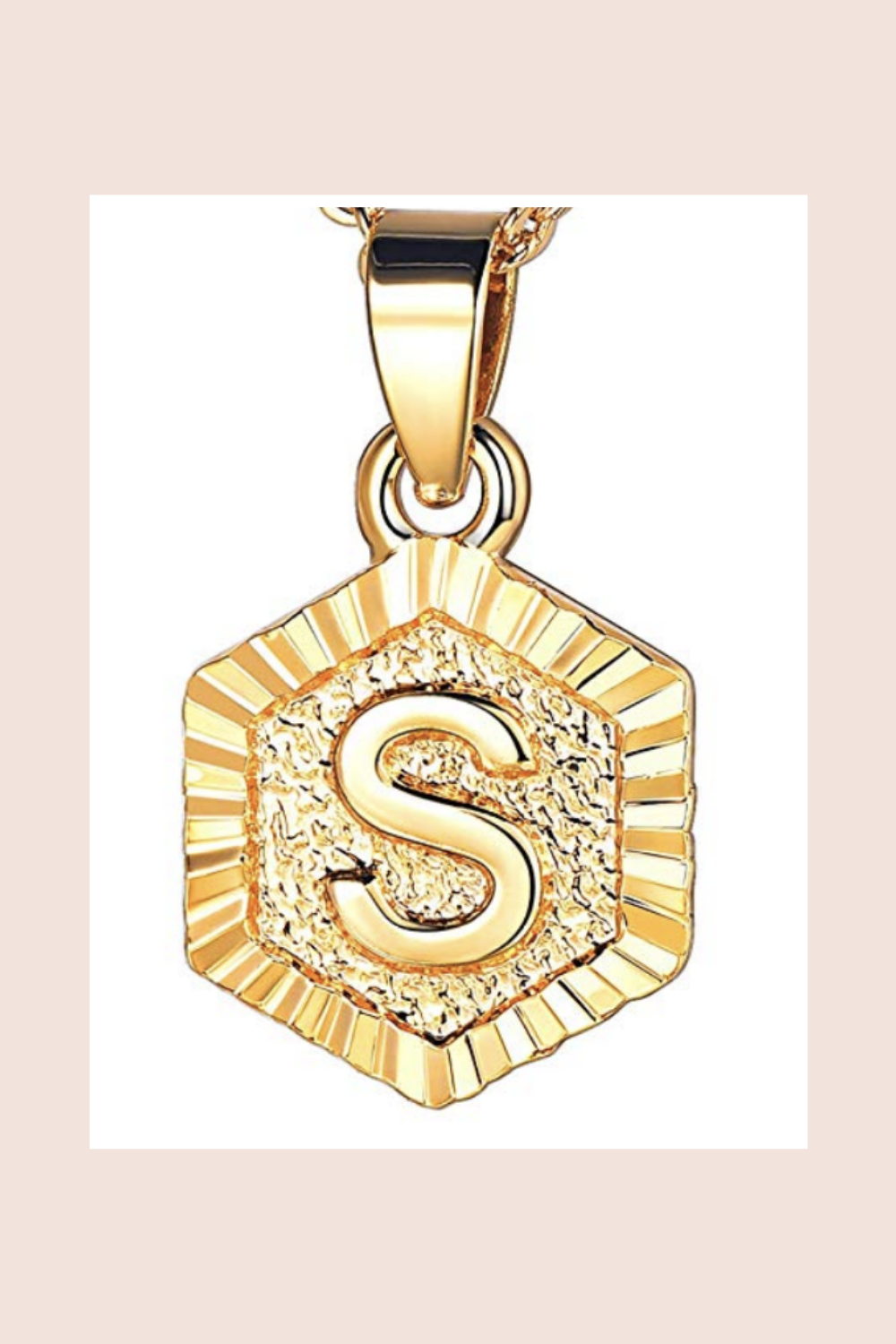 Amazon Initial Necklace