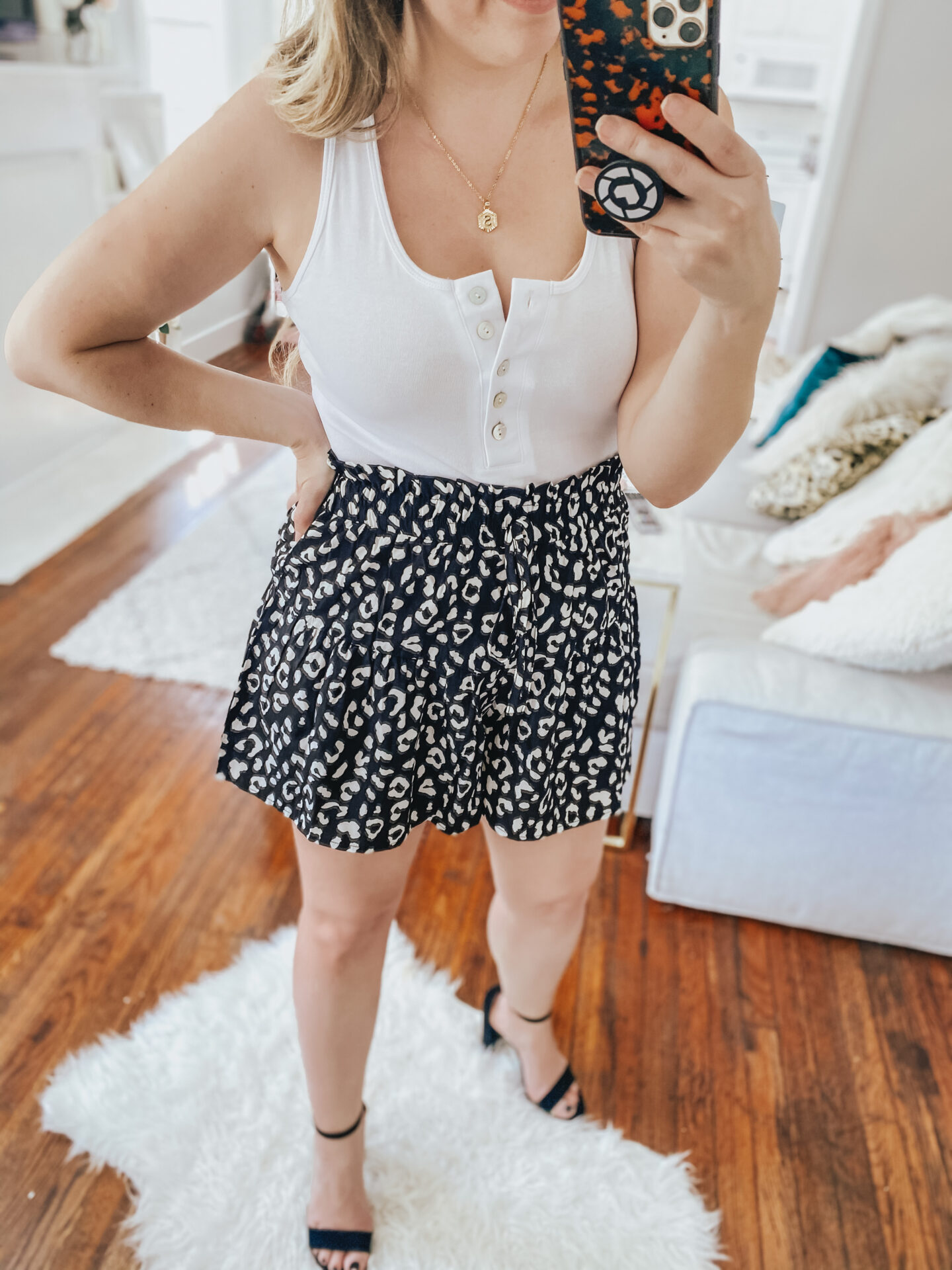 Cute Leopard Shorts from Amazon