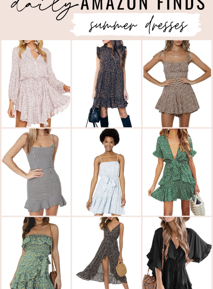 daily amazon finds - summer dresses
