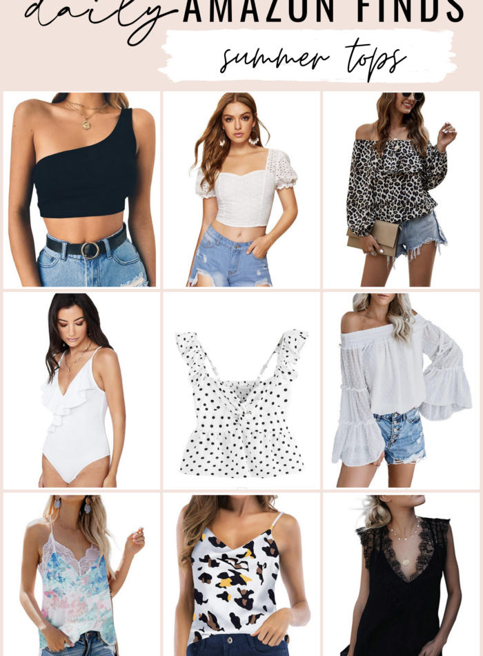 Cute Summer Tops from Amazon