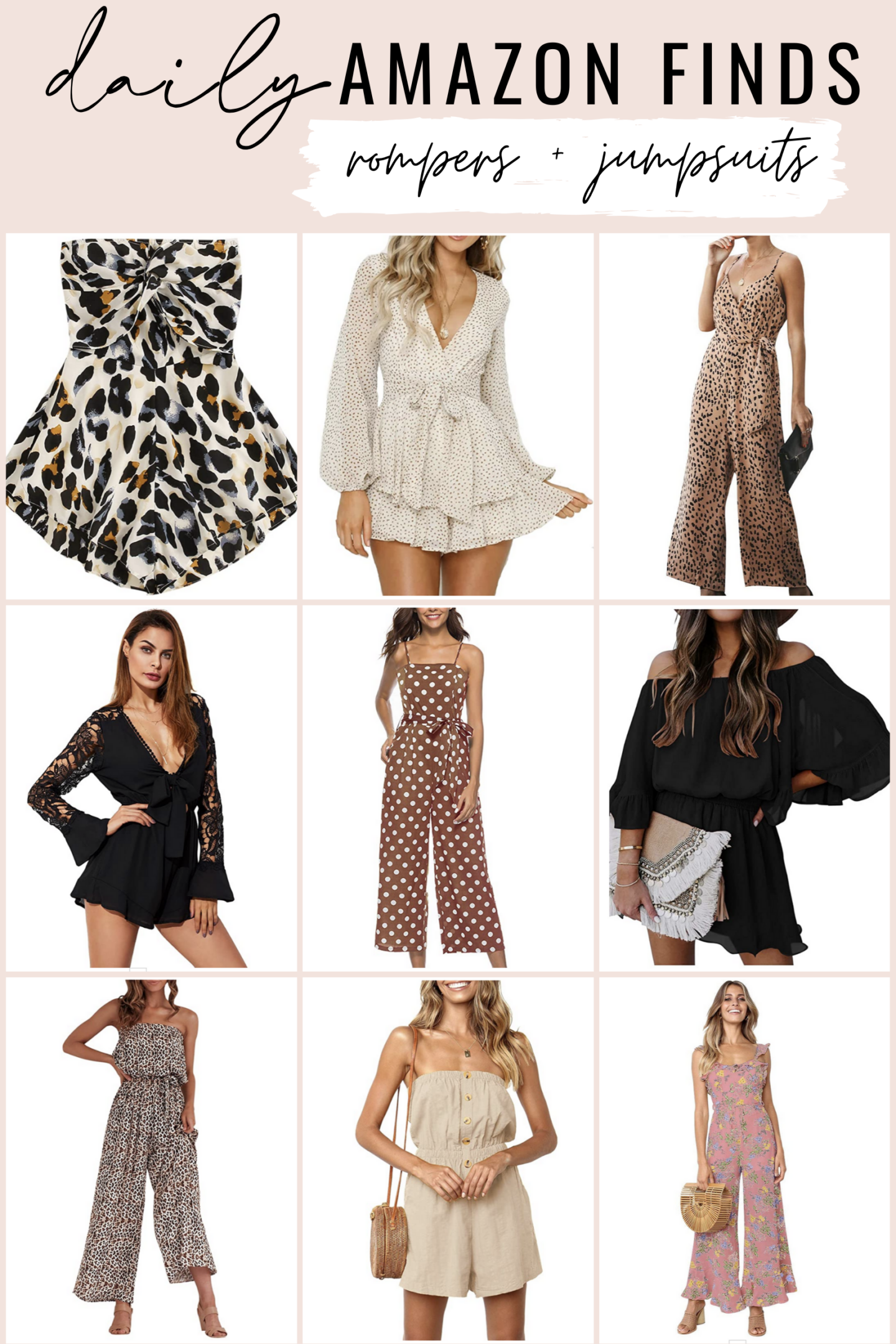 Cute Amazon jumpsuits and rompers for summer