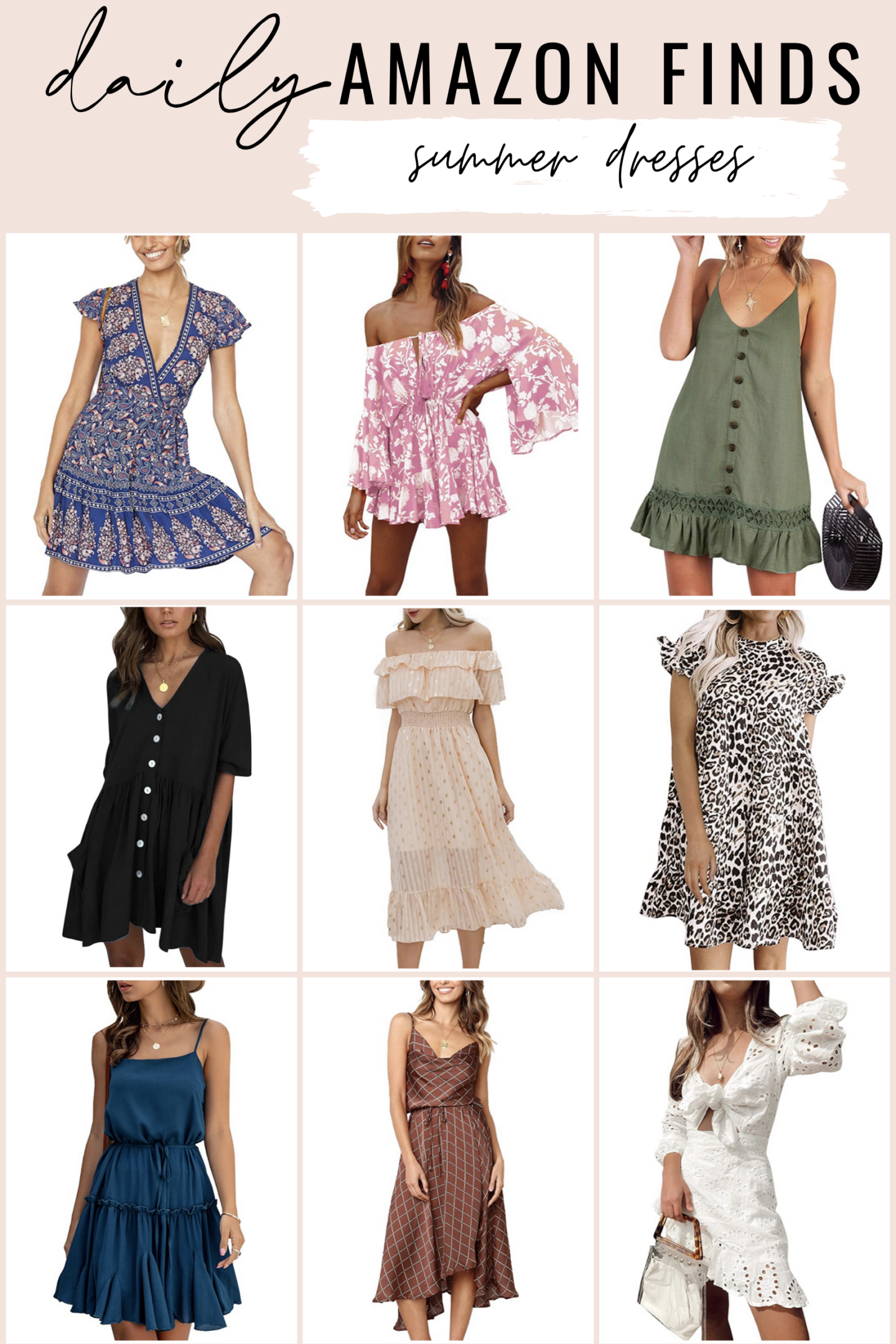 Amazon Daily Finds - Amazon Summer Dresses