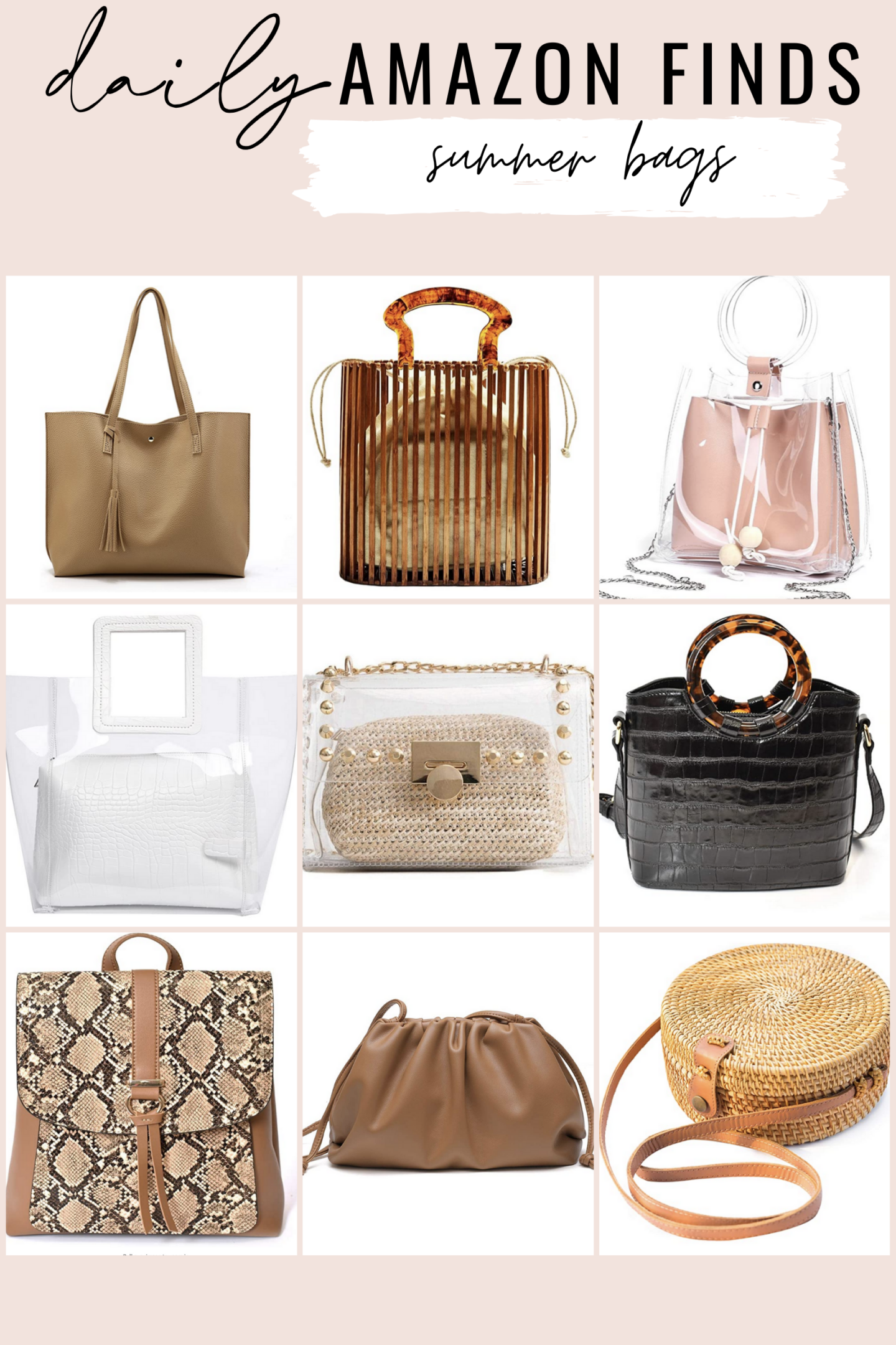 Cute Bags from Amazon