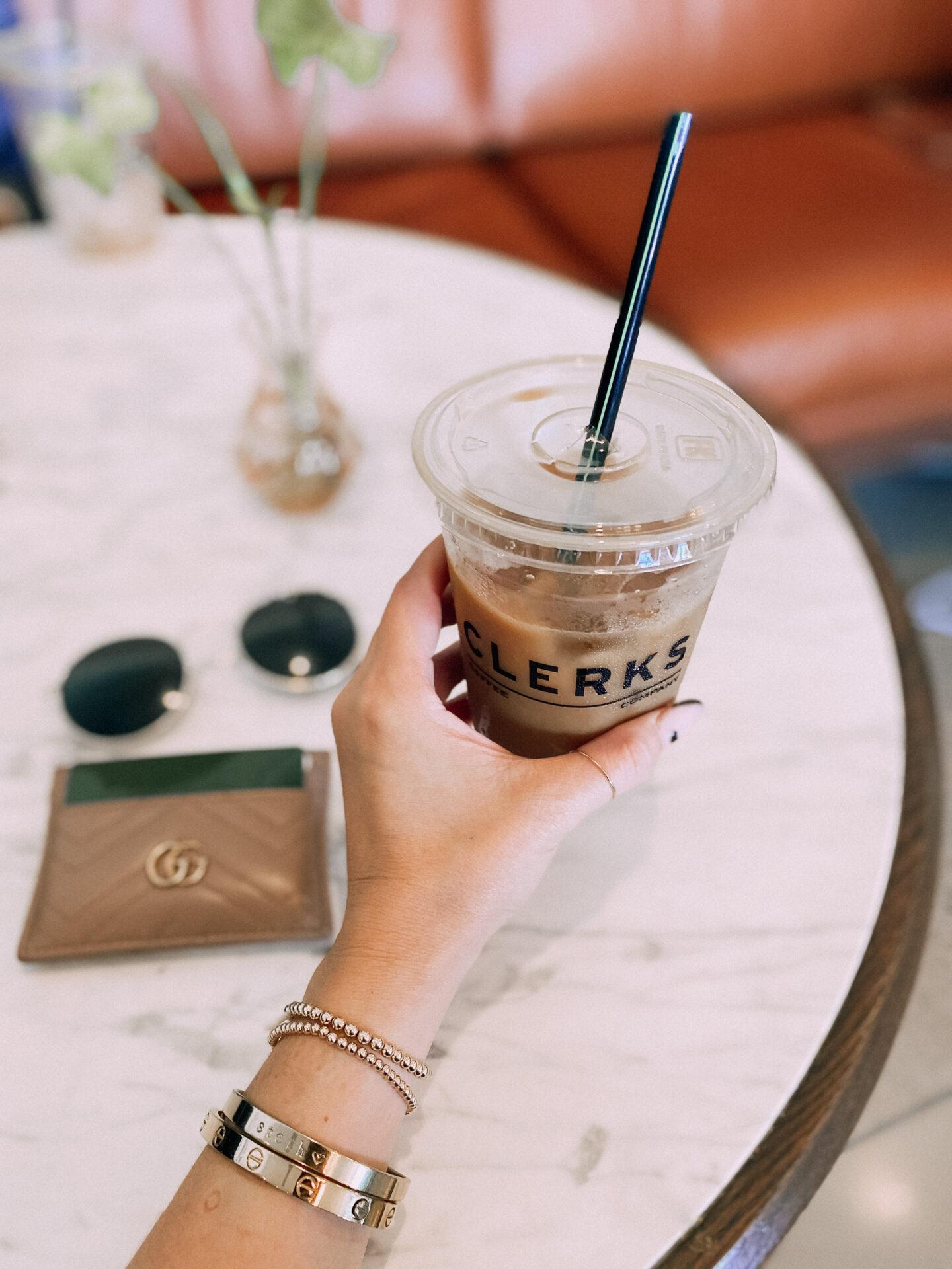 hotel emeline charleston review - clerks coffee